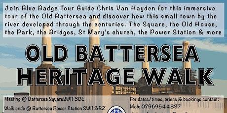 Old Battersea Heritage Walk (Battersea Square to Battersea Power Station) tickets