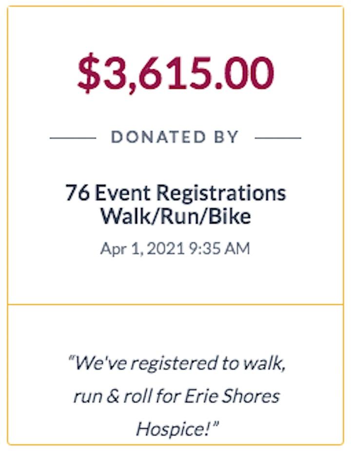 2021 Life Walk/Run/Bike for Hospice image