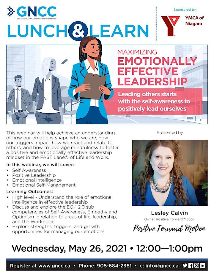 Lunch & Learn: Maximizing Emotionally Effective Leadership image