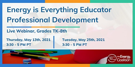 Energy is Everything Professional Development for Redding, CA Educators tickets