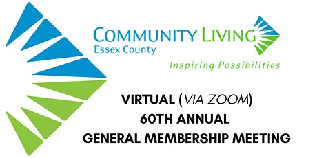 Community Living Essex County 60th Annual General Meeting tickets