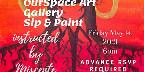 OurSpace Art Gallery Sip & Paint tickets