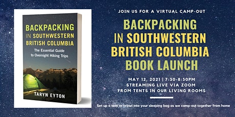Virtual Camp-Out: Backpacking in Southwestern British Columbia Book Launch tickets