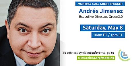 Climate Speaker Series -  Andrés Jimenez tickets