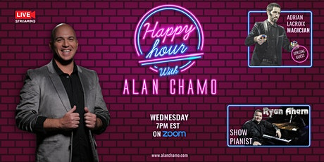 Happy Hour with Alan Chamo  | featuring Magician Adrian Lacroix tickets
