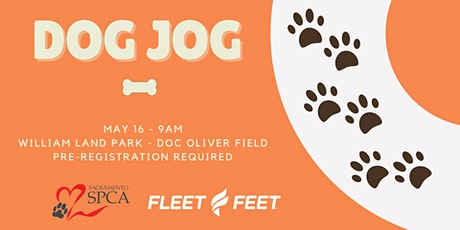 Dog Jog with Fleet Feet & Sacramento SPCA tickets