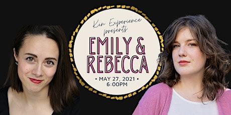 En Concert: Emily & Rebecca billets