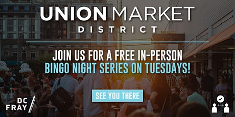 Live Tuesday Bingo at Union Market tickets
