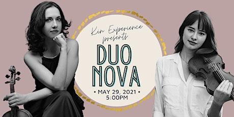 En Concert: Duo Nova tickets