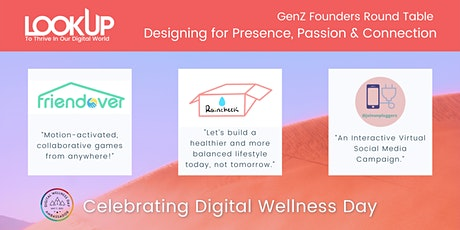 GenZ Founders Round Table  Designing for Presence, Passion & Connection tickets