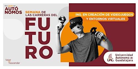"""Carrera del futuro """"Creación de Videojuegos y Entornos Virtuales"""" entradas"""
