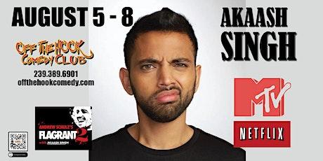 Comedian Akaassh Singh live  in Naples, FL tickets
