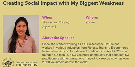 Creating Social Impact with My Biggest Weakness tickets