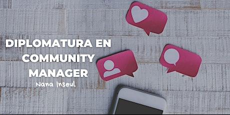 "Diplomatura  ""Community Manager"" del 3/06 al 19/08  jueves 19:00 a 20:30 entradas"