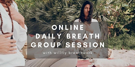 Online daily breathing practice exploration for your daily life! tickets