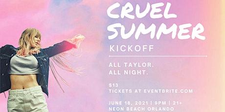 Taylor Swift Night: Cruel Summer Kickoff at Neon Beach tickets