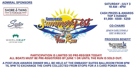 """Suncoast Summer Fest"" Fun Run tickets"