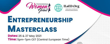 Masterclass : Entrepreneurship tickets
