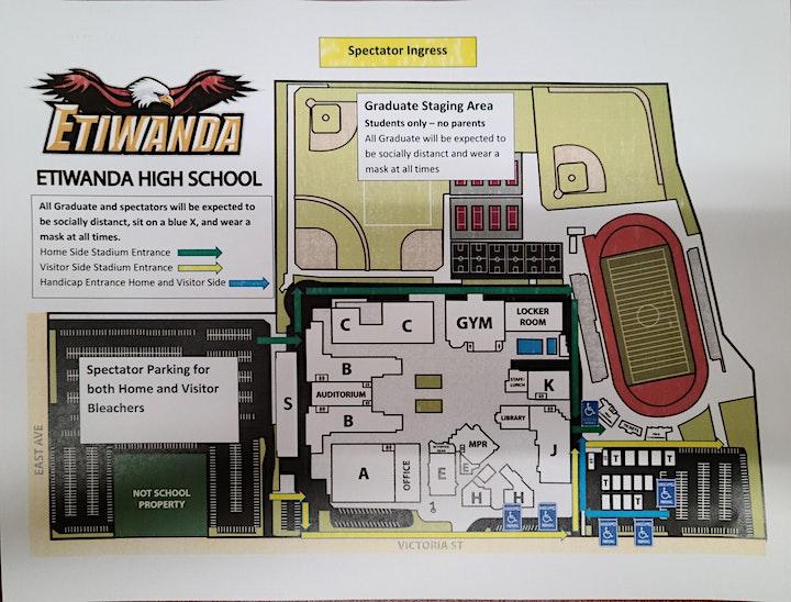 Etiwanda High School 3:30 pm Commencement Ceremony image