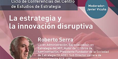 La estrategia y la innovación disruptiva¨ entradas
