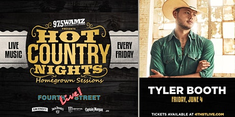 Hot Country Nights: Tyler Booth presented by 97.5 WAMZ tickets