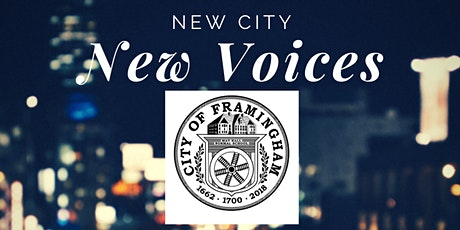"Framingham ""New Voices"" Civic Engagement Workshop Informational Session tickets"