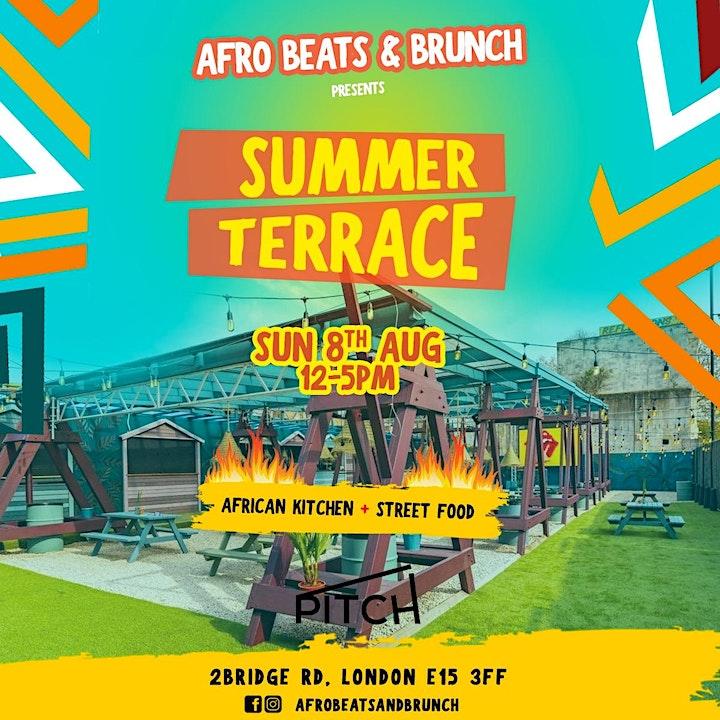 Afrobeats n Brunch Summer Terrace Party image