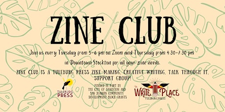 Thursday Night Zine Club at The Write Place tickets