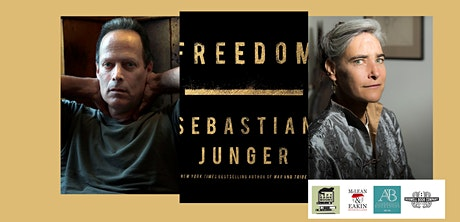 Sebastian Junger, author of FREEDOM - a virtual ticketed event tickets