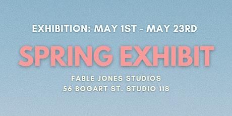 Fable Jones Studios: Spring Exhibit Gallery Hours tickets
