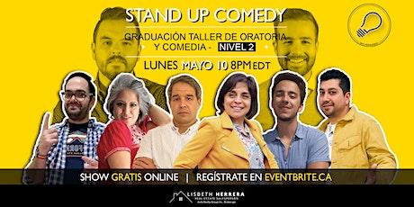Graduación Taller Online: Oratoria y Comedia - Nivel 2 tickets
