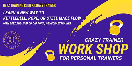 The Crazy Trainer Workshop for Personal Trainers at Bezz Gym tickets