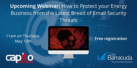 Protect your Energy Business from Email Security Threats tickets