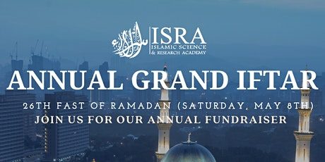 ISRA Annual Grand Iftar tickets