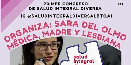I Congreso Online de Salud Integral Diversa LBTQAI+ entradas