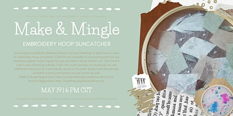 Make & Mingle: Embroidery Hoop Suncatcher tickets
