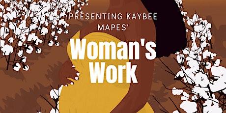 """Woman's Work"" Chapbook Release Extravaganza! tickets"