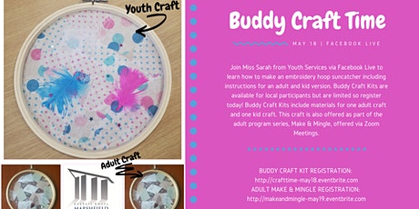 Buddy Craft Time: Embroidery Hoop Suncatcher tickets