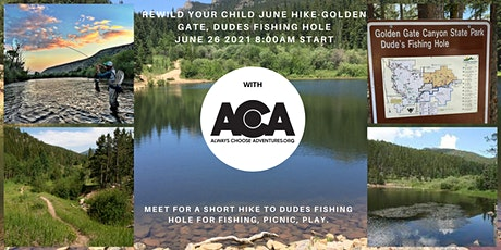 ReWild Your Child June Hike at Golden Gate Canyon with ACA tickets