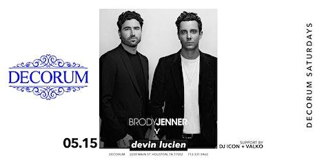 Decorum Presents Brody Jenner tickets