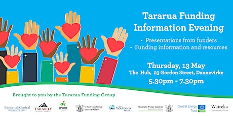 Tararua Funding Information Evening tickets