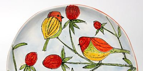 Strawberry Fields: Virtual Ceramics Workshop (Paint-Your-Own-Pottery) tickets