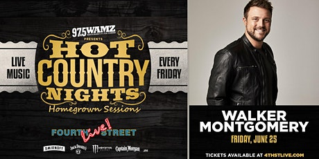Hot Country Nights: Walker Montgomery presented by 97.5 WAMZ tickets