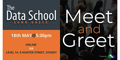 The Data School Meet and Greet - ONLINE or At The Data School! tickets