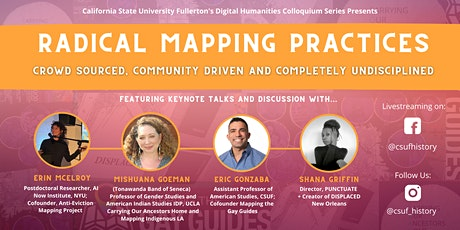 CSUF Digital Humanities Spring Keynote + Discussion tickets