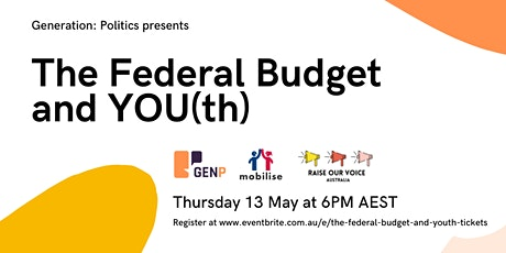 The Federal Budget and You(th) tickets