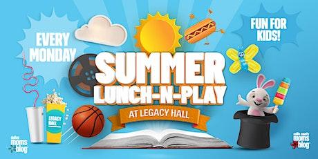Summer Lunch-N-Play I Aladdin Movie + Meet Aladdin & Jasmine tickets