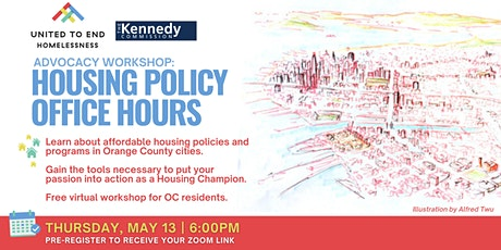 Housing Policy Office Hours: Online Advocacy Workshop tickets