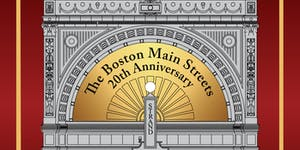 Boston Main Streets Annual Awards Ceremony