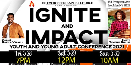 Ignite & Impact Youth & Young Adult Conference tickets